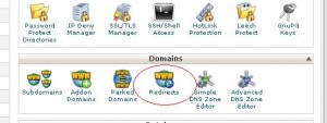 redirect domain