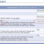 usergroup option